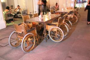 bizarre restaurant - hospital restaurant