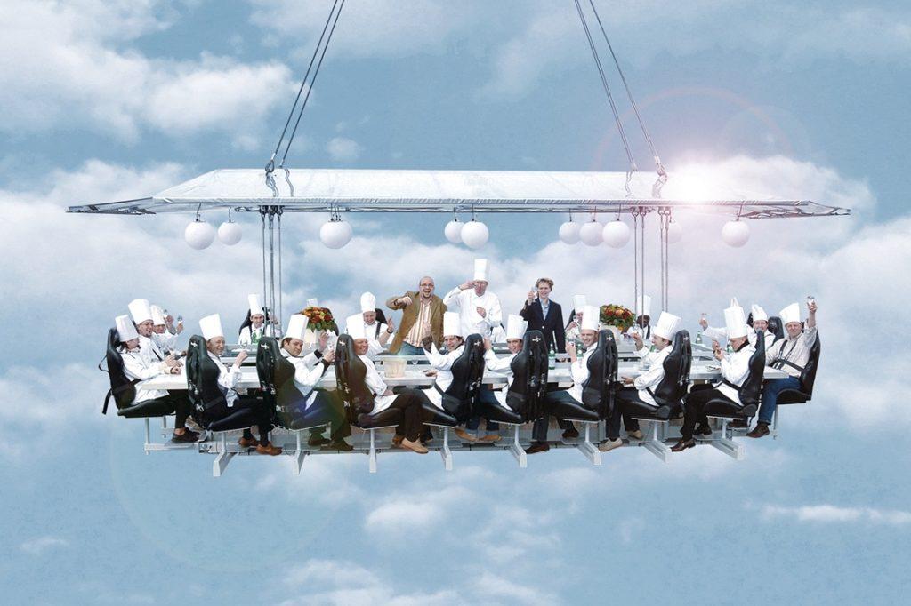 bizarre restaurant sky restaurant