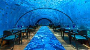 bizarre restaurant - undersea restaurant