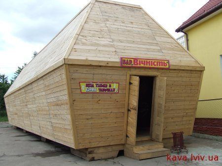 Coffin shaped restaurant